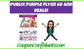 Publix Purple Flyer Ad Scan! Dec 15 – 28
