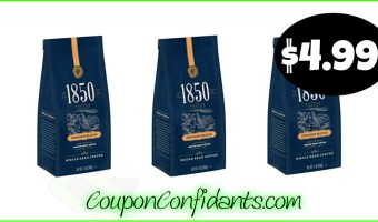 1850 by Folgers Coffee at Publix only $4.99!