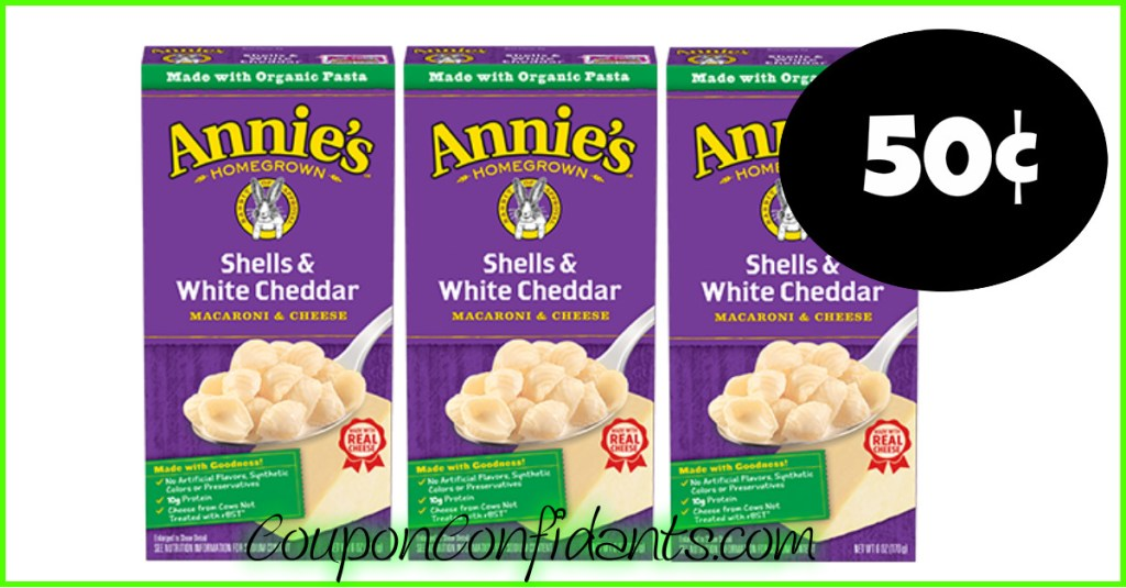 Annie's Homegrown Mac & Cheese only $0.50 at Target!