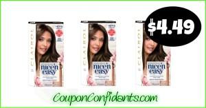 Clairol Hair Color $4.49 at Publix!