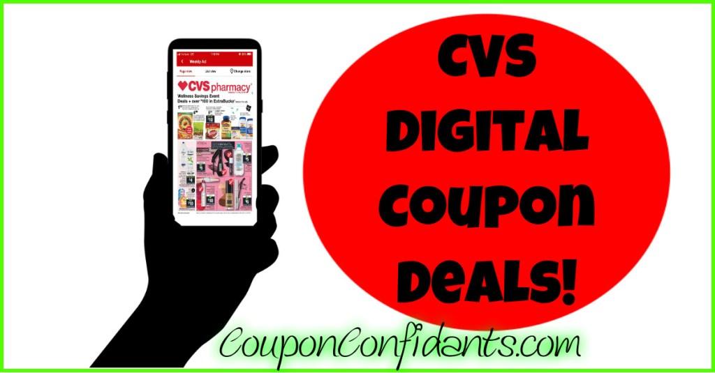 CVS Digital Deals! ANYONE can do these!