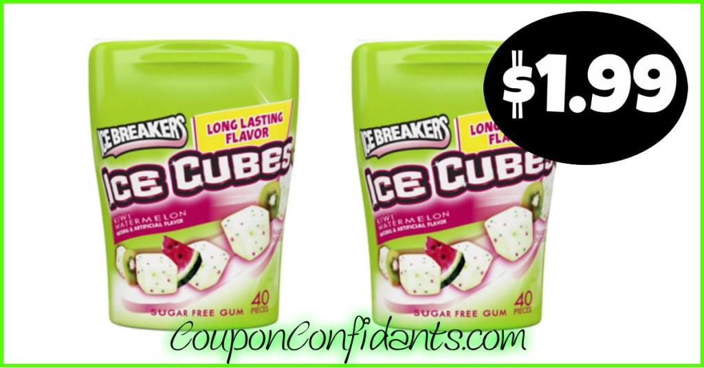 $1.99 Ice Breakers Gum at CVS!