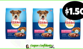Kibbles N Bits Dog Food at Bilo and Winn Dixie!