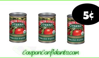5¢ Muir Glen Tomatoes!! YES!
