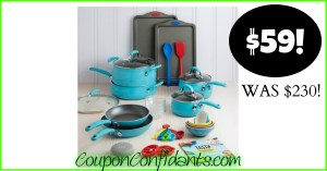 WOW! Tasty Cookware Set at Walmart only $59!! (Was $230)