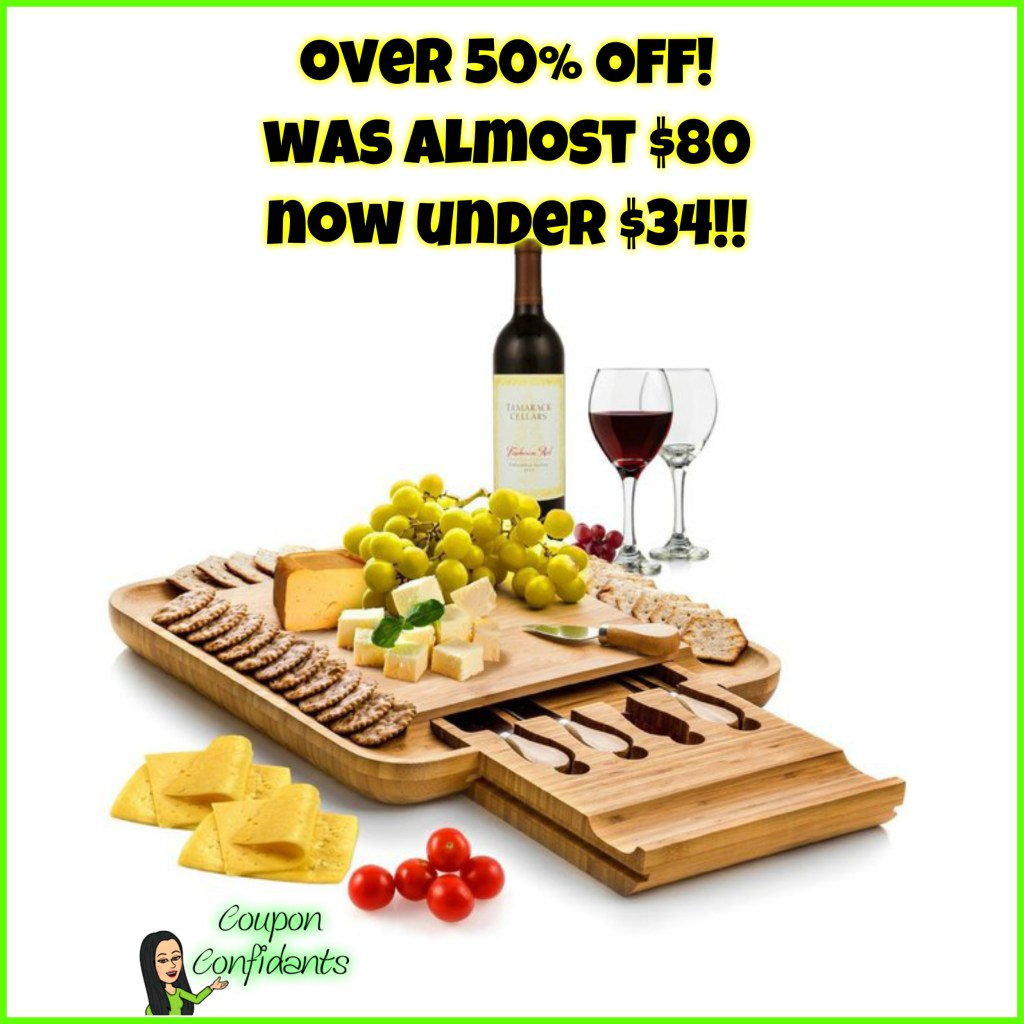 NICE Deal on this high end Cheese Board!
