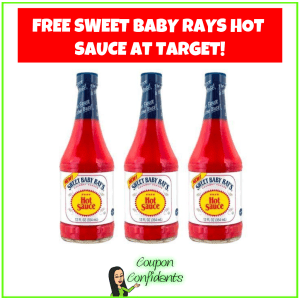 FREE Sweet Baby Rays Hot Sauce at Target!