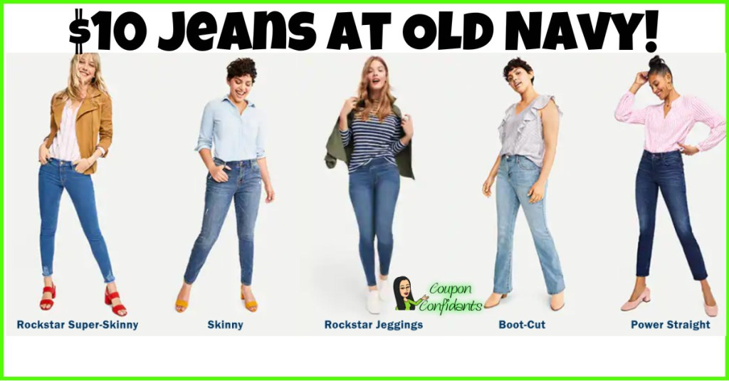 $10 Jeans at Old Navy!! RUN!!