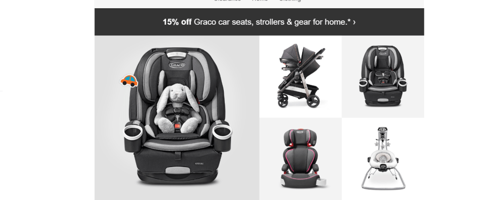Graco Sale at Target! Check it out Moms!
