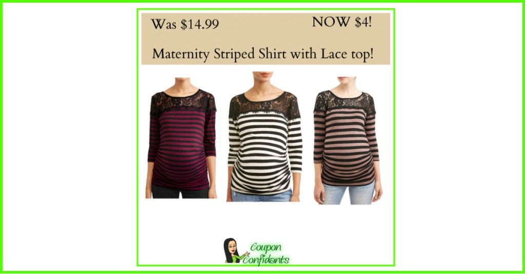 Maternity Shirts for $4 YES!!! Tag a mom to be!