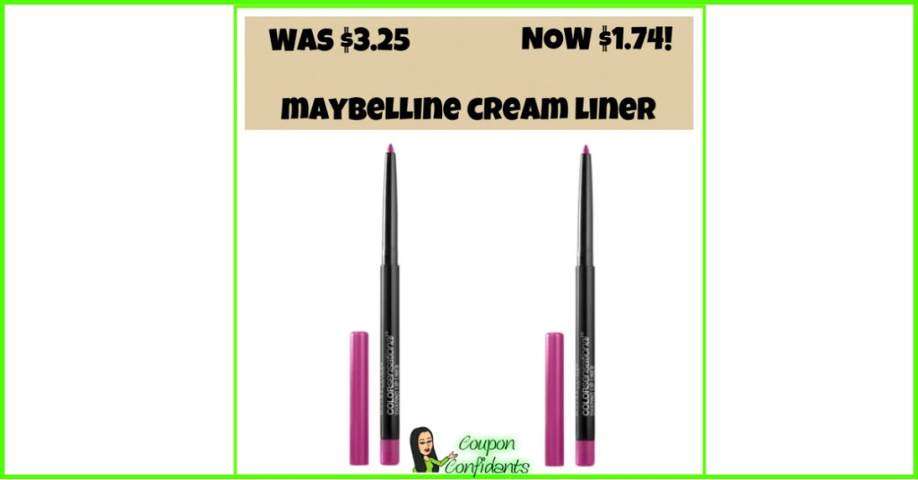 Maybelline Cream Liner at a LOW Price!! Target Deal!