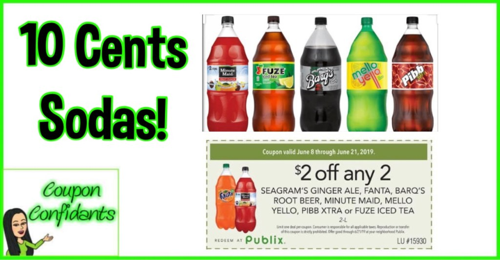 Refreshing deal on drinks at Publix!