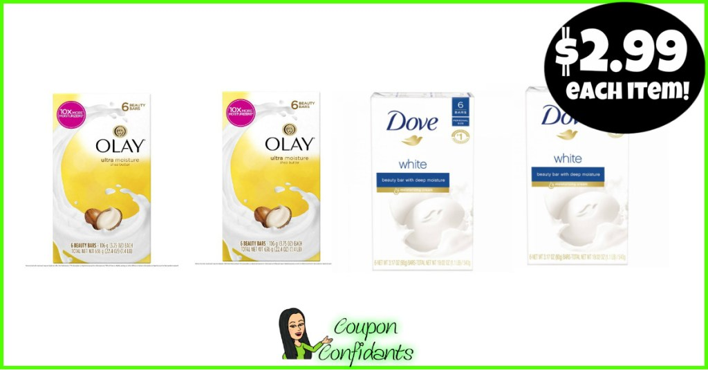 SOAP DEAL ANYONE CAN DO! $2.99 EACH PACK AT PUBLIX!!