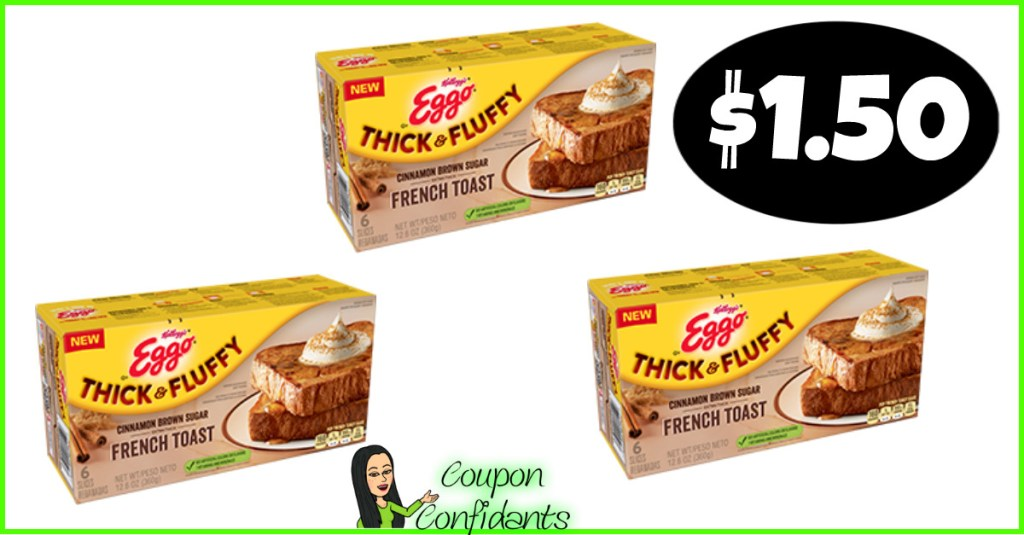 Eggo French Toast $1 – $1.50 at Publix right NOW!