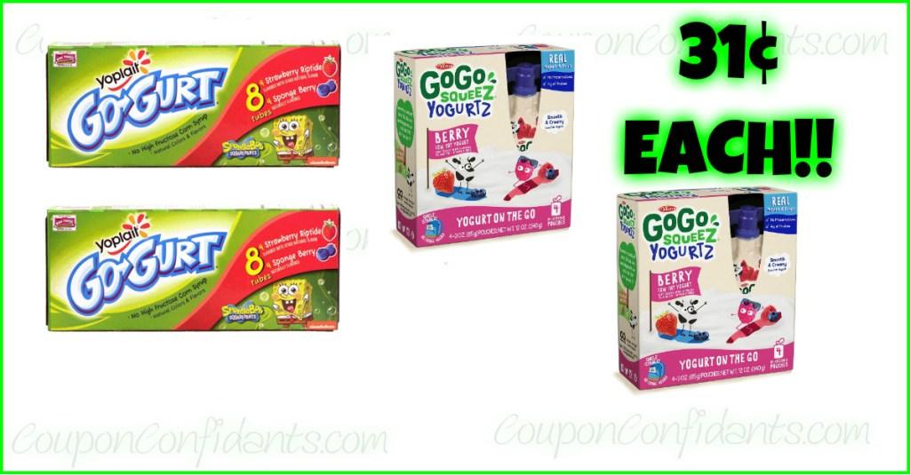 Publix Yogurt Deal with Target Coupon!