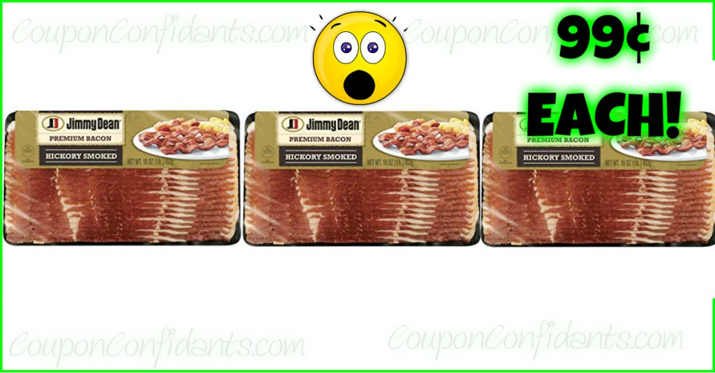 WOW!!! 99¢ Jimmy Dean Bacon and ANYONE can get it! Winn Dixie Deal!