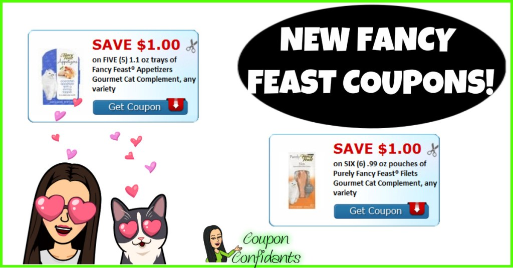 NEW Fancy Feast Coupons!