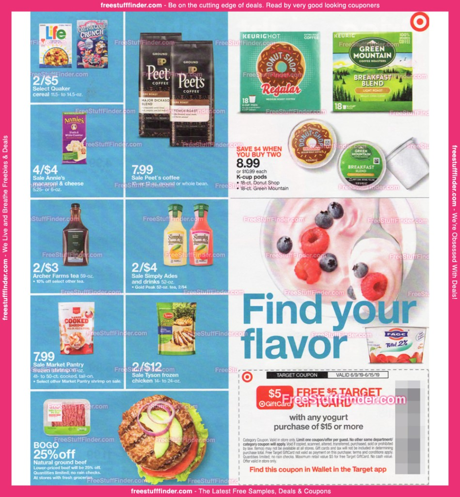 Target AD Scan June 9 – 15 EASY PDF Form!