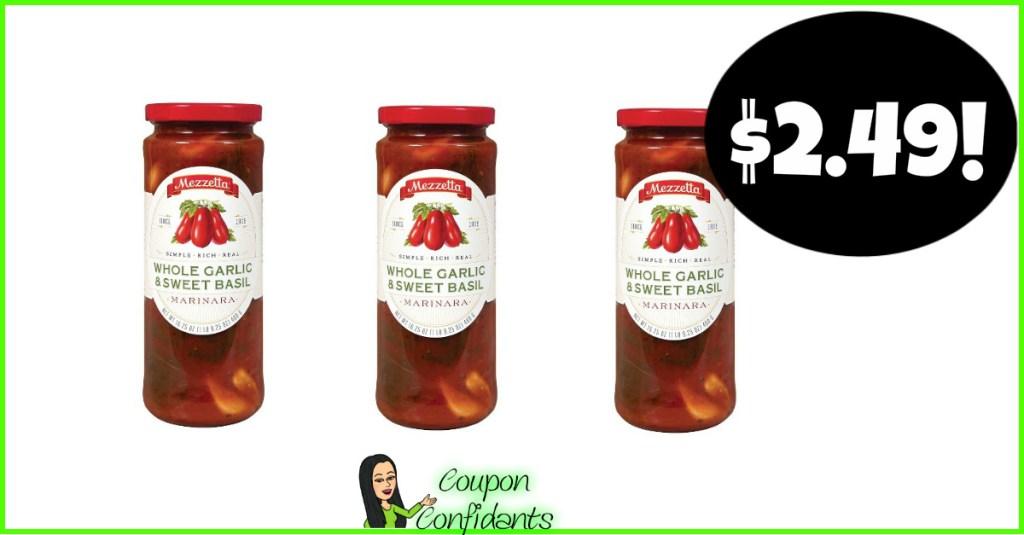 Mezzetta Pasta Sauce $2.49 at Publix! YUMMY!!