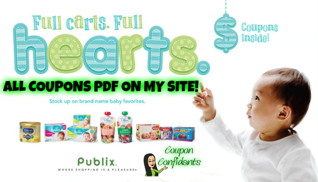 Publix NEW Baby Booklet and ALL the Coupons as PDFs too!