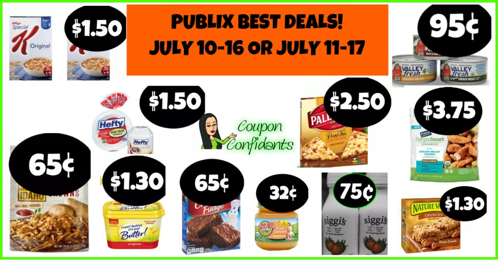 Publix BEST Deals and FULL list! July 10-16 or July 11-17