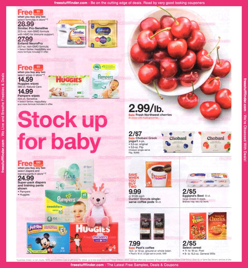 Target AD Preview July 21-27