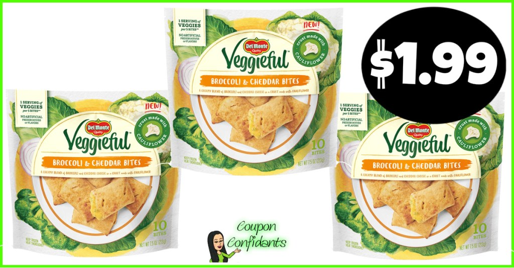 $1.99 Del Monte Veggieful Bites at Publix! NEW to try!