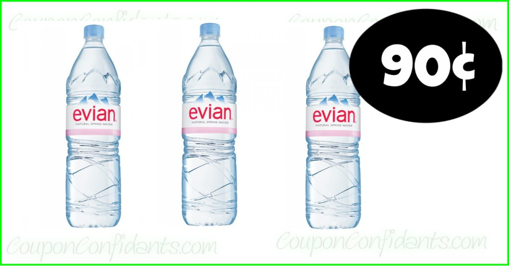 HOT Deal on Evian Waters at Publix!