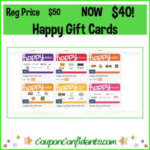 $50 Happy Gift Cards for just $40 at Publix!