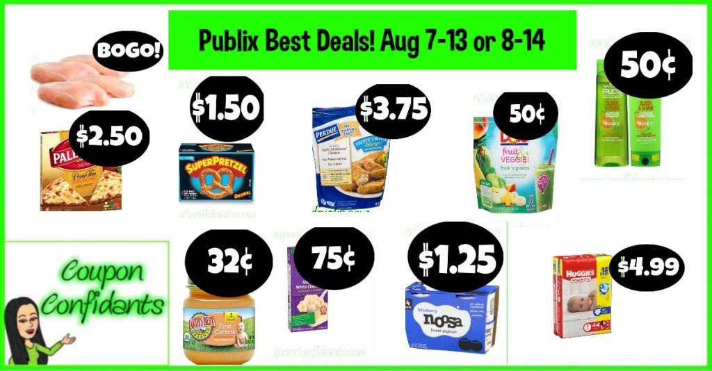 Publix BEST Deals August 7-13 or 8-14