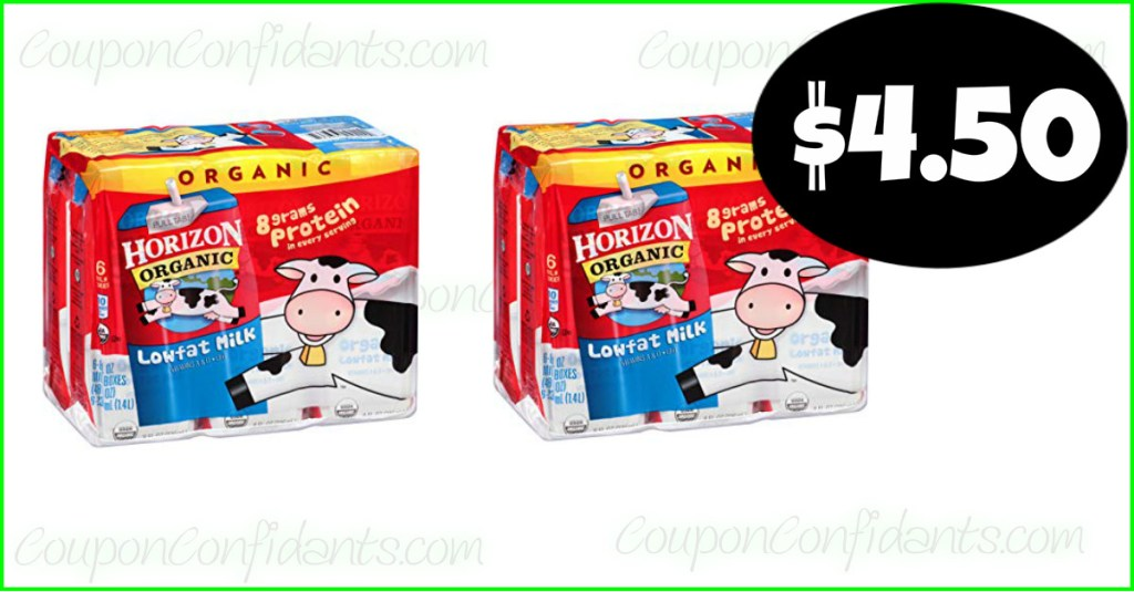 Horizon 6 packs only $4.50 at Publix! HURRY!