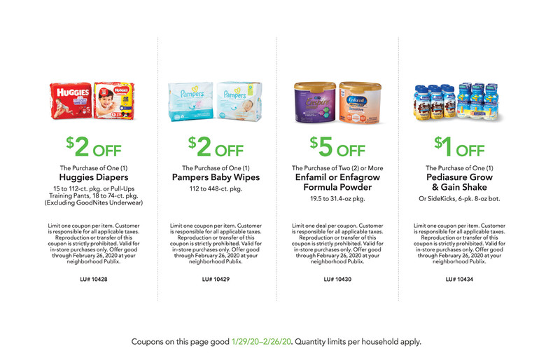 Publix Baby Book! WITH HUGGIES COUPON AS PDF!!