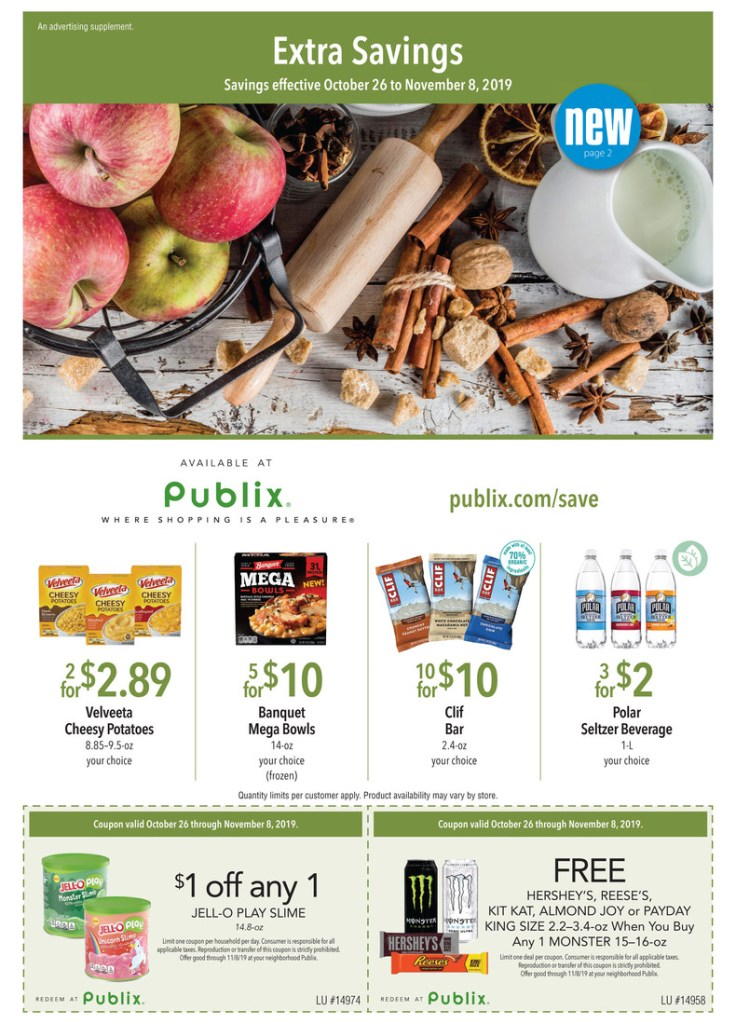 Publix Green Flyer AD 10/26-11/8