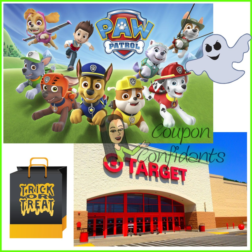 Paw Patrol Halloween Event at Target for the Kids!! FULL Details here!