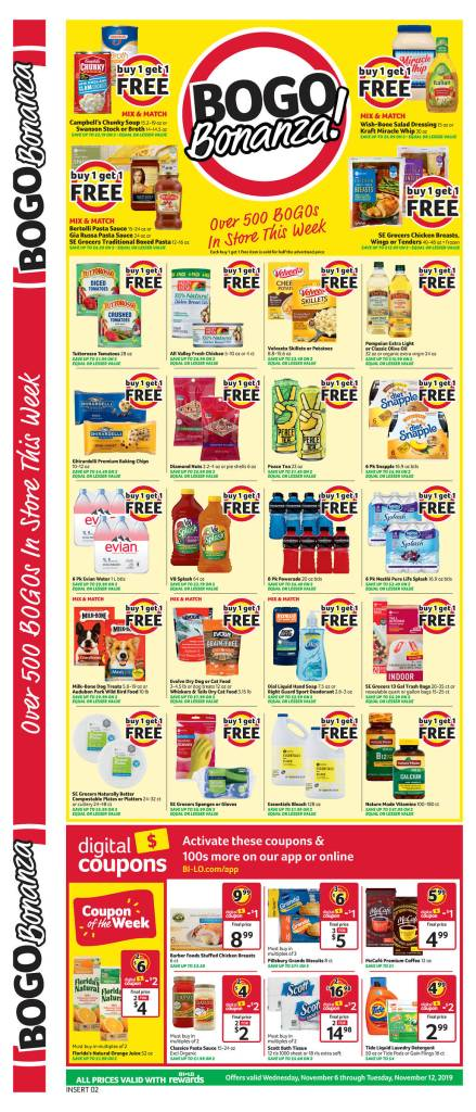 Bilo Weekly AD Scan 11/6-11/12