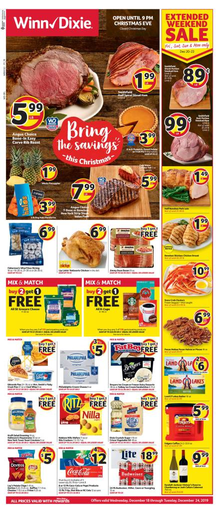 Winn Dixie AD scan Dec 18-24!