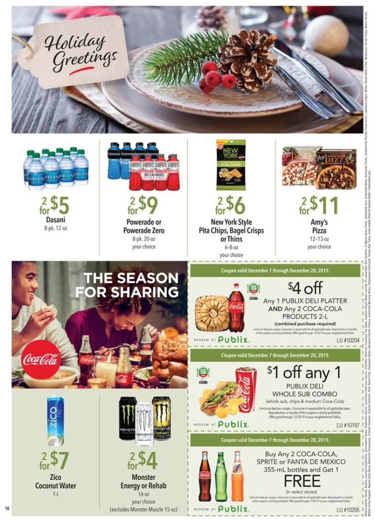 PUBLIX Green Flyer AD and Deals too! Dec 7-20