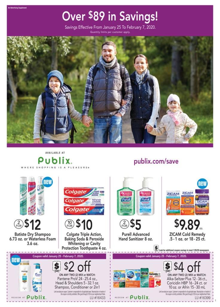 Publix Purple Flyer 1/25-2/7