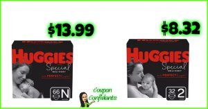 Huggies Special Delivery Diapers Deals at Target! YES!