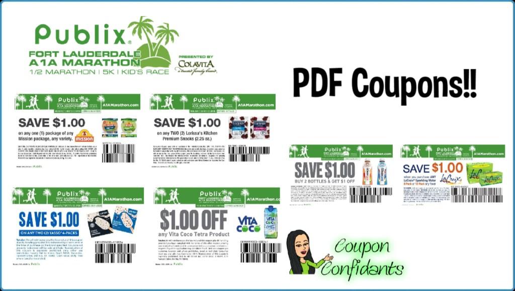 Publix A1 Marathon Coupons – PDF's!!