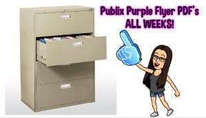 Publix Purple Flyer PDFS – ALL Weeks!