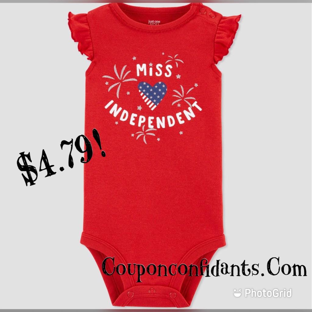 4th of July onesies sale!