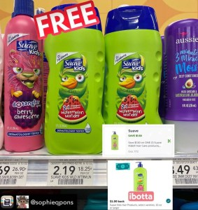 FREE Suave Kids Shampoo at Publix! EVERYONE can do this deal!