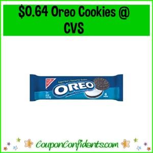 Oreo 6 ct $0.64 at CVS!