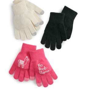 3 piece Gloves Sets – Reg Price $14 NOW $2.80!