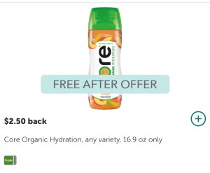 FREE Core Organic Drink at PUBLIX! Everyone can do this deal!