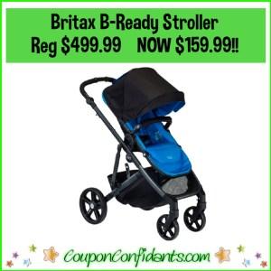 Britax B-Ready Stroller Reg Price $499.99 NOW $159.99!