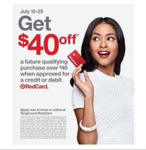 FREE $40 at Target*! Sign up now!
