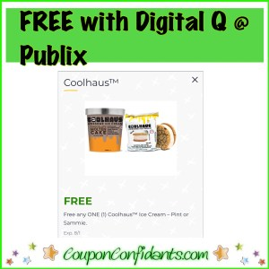 FREE Coolhaus at Publix For EVERYONE!! 🏃🏻‍♀️