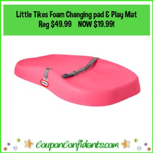 Little Tikes 2in1 Foam Changing Pad and Play Mat Reg $49.99 NOW $19.99!